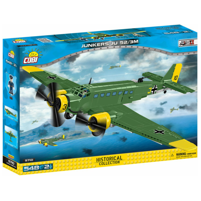 Ludibrium-Cobi 5710 - Junkers Ju-52/3m g5e - Klemmbausteine