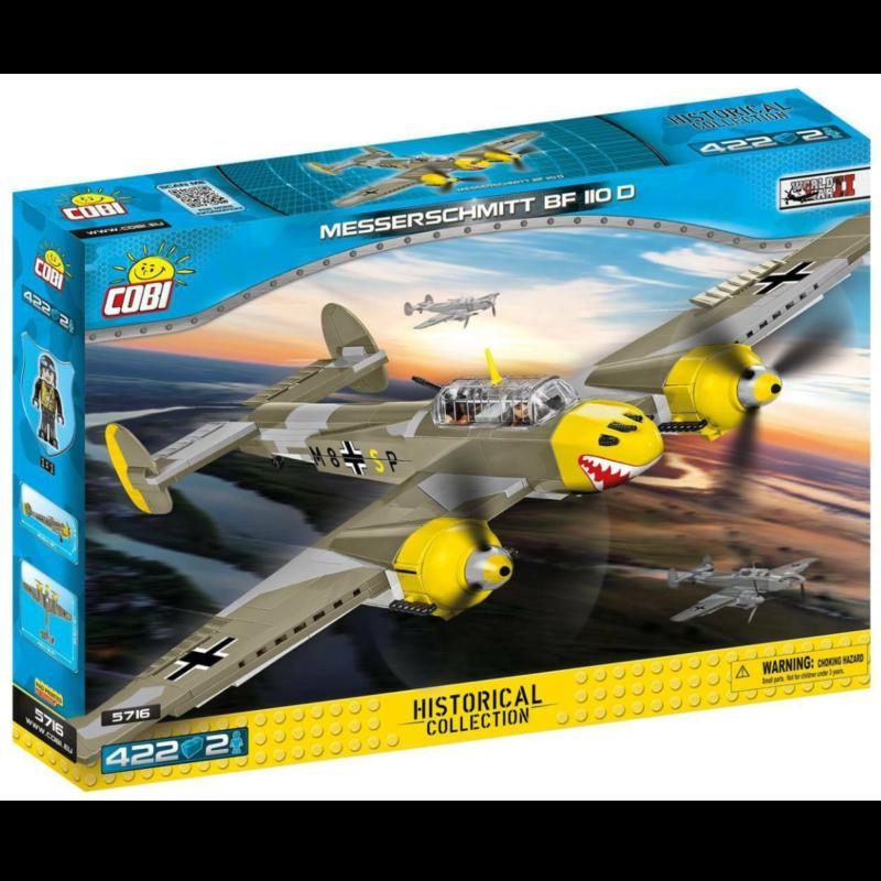 Ludibrium-Cobi 5716 - Messerschmitt Bf 110 D - Klemmbausteine