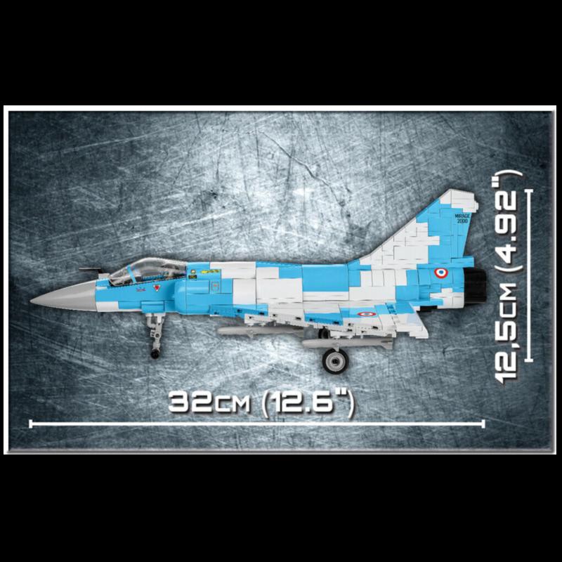 Ludibrium-Cobi 5801 - Mirage 2000-5 - Klemmbausteine