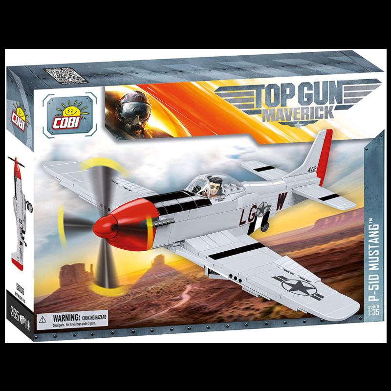 Ludibrium-Cobi 5806 - TOP GUN P-51D Mustang - Klemmbaustein