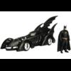 Ludibrium-Jada - Batmobile Movie Batman Forever (1995) black mit Batman Figur, 1:24