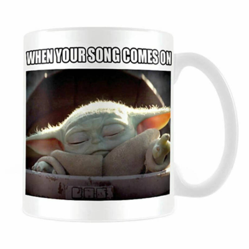 """Ludibrium-Star Wars - The Mandalorian Tasse """"When Your Song Comes On"""""""