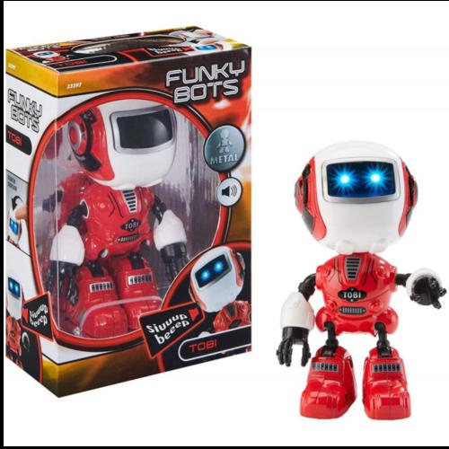 Ludibrium-Revell Control - Funky Bots TOBI - Spielzeugroboter rot