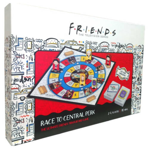 "Ludibrium-Friends - Trivia Brettspiel Race To Central Perk ""Englische Version"""