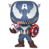 Ludibrium-Marvel Venom - POP! Vinyl Wackelkopf Figur Venomized Captain America