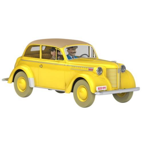 Ludibrium-Tim und Struppi - Sammlerauto - das Olympia der Syldavian-Spione Nº21 1:24