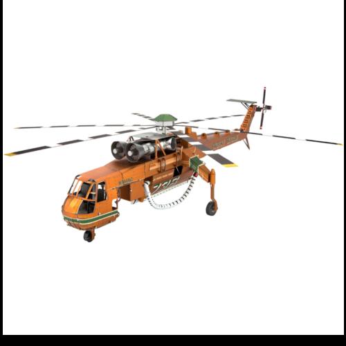 Ludibrium-Metal Earth - Iconx Sikorsky S-64 Skycrane ICX211