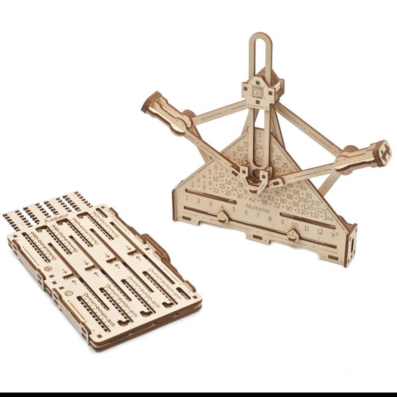 Ludibrium-UGEARS 70152 - Arithmetic Kit - 3D Holzspielzeug