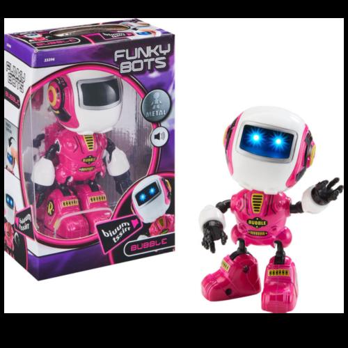 Ludibrium-Revell Control - Funky Bots BUBBLE - Spielzeugroboter pink