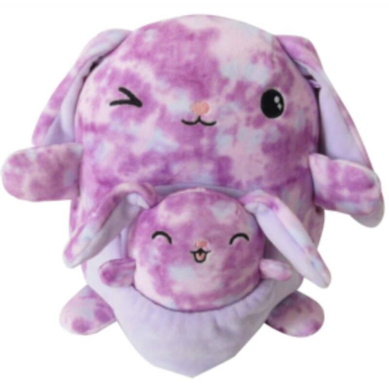 Squishmallows - Mami Hase Olivia 20cm & Baby