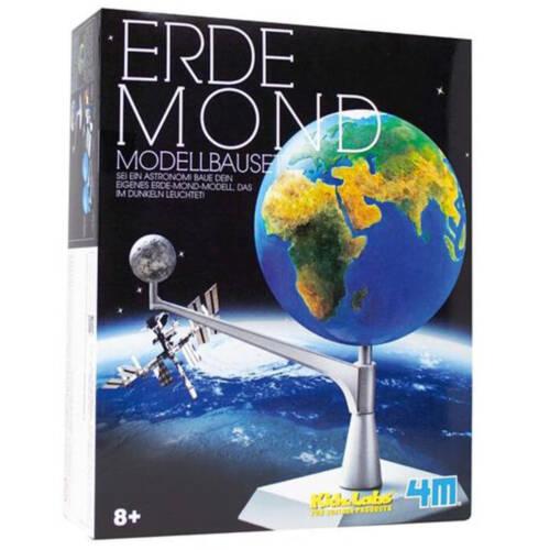 Ludibrium-4M KidzLabs - Erde Mond Modellbauset