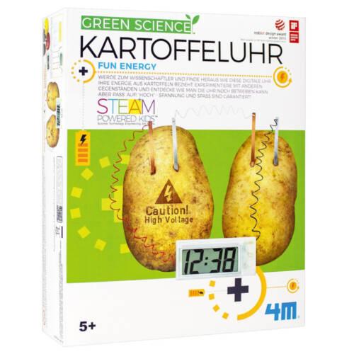 Ludibrium-4M Green Science - Lern- und Entdeckungsset - Kartoffeluhr