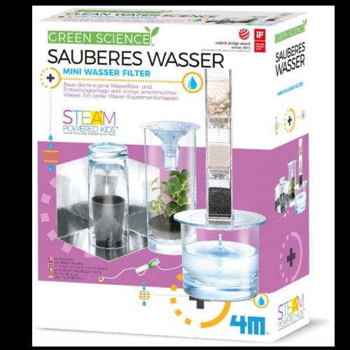Ludibrium-4M Green Science - Lern- und Entdeckungsset - Sauberes Wasser