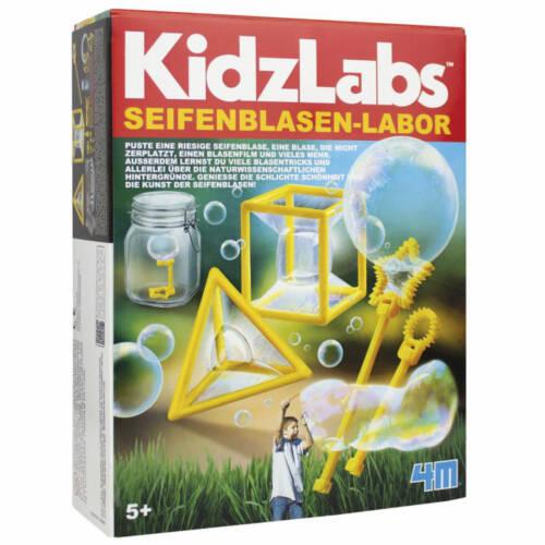 Ludibrium-4M KidzLabs - Seifenblasen-Labor