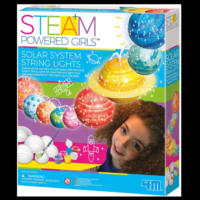 Ludibrium-4M - Steam Powered Girls / Kids - Lichterkette Sonnensystem