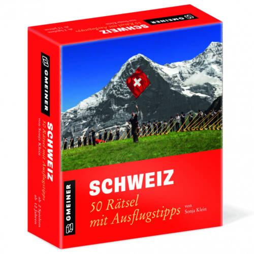 Ludibrium-Gmeiner - Schweiz - 50 Rätsel mit Ausflugtipps