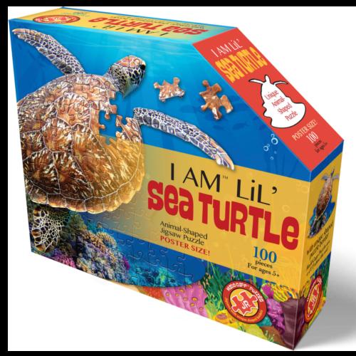 Ludibrium-Madd Capp Puzzle - Jr. Schildkröte - 100 Teile
