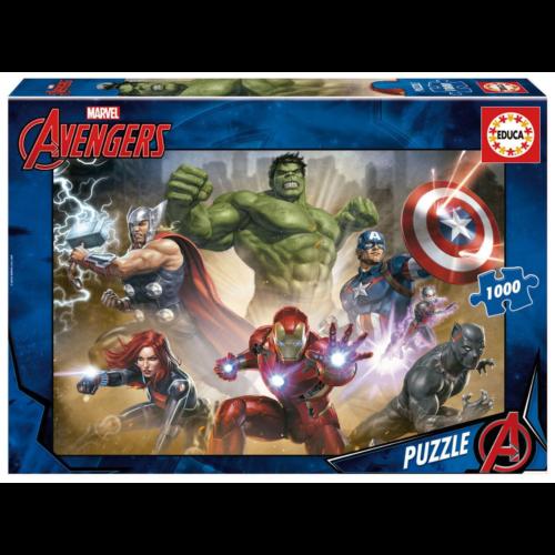 Ludibrium-Educa - Marvel Avengers - 1000 Teile