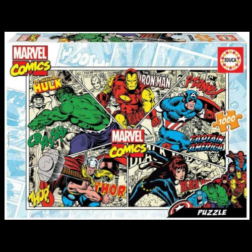 Ludibrium-Educa - Marvel Comics - 1000 Teile