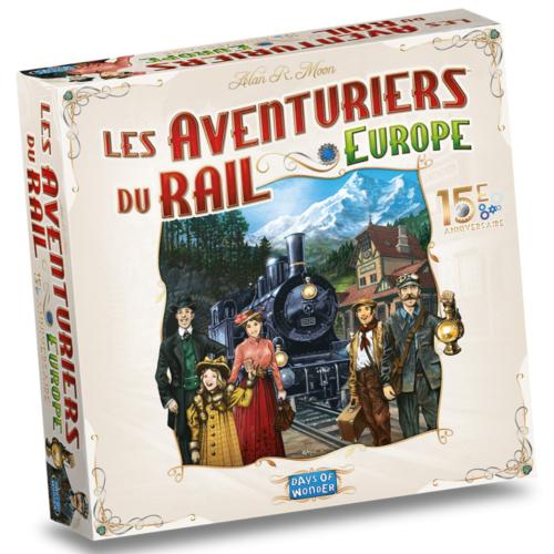 Ludibrium-Les Aventuriers du Rail Europe - Edition 15ème Anniversaire (F, D, I)
