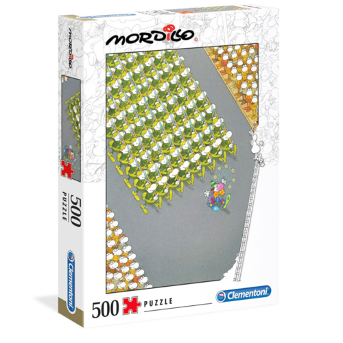 Ludibrium-Clementoni - Mordillo The March - 500 Teile