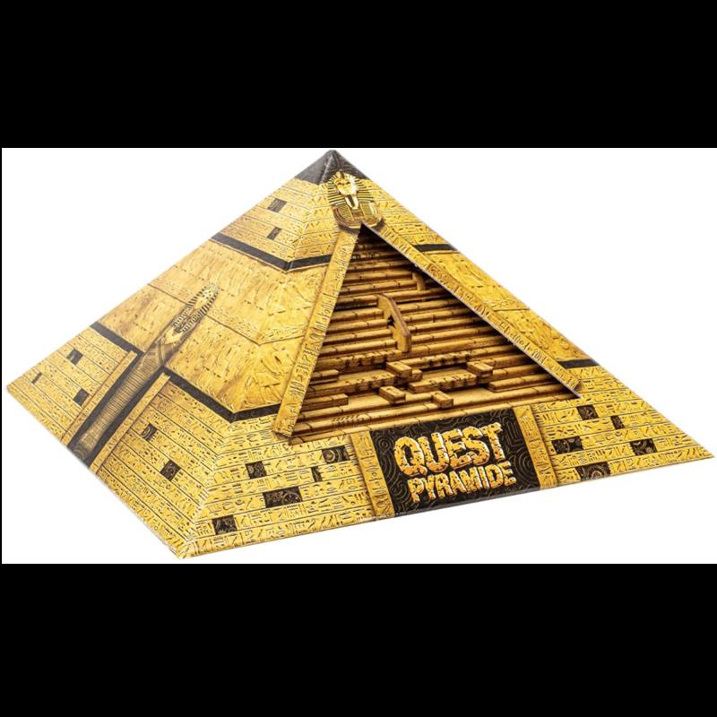 Ludibrium-ESC - die Quest Pyramide - Escape Room im handlichen Format