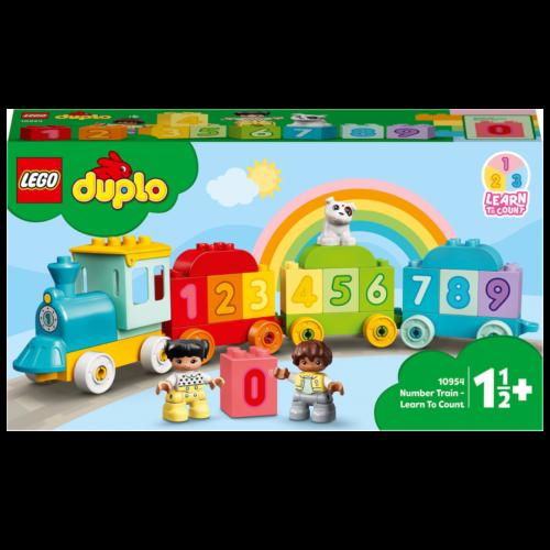 Ludibrium-LEGO Duplo 10954 - Zahlenzug - Zählen lernen - Klemmbausteine