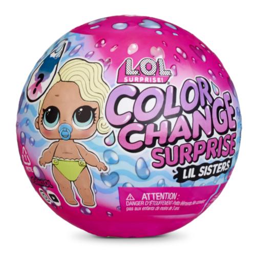 Ludibrium-MGA Entertainment - L.O.L. Color Change Lil Sisters assortiert