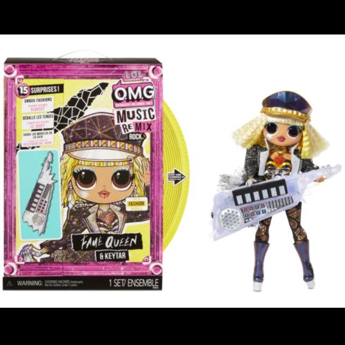 Ludibrium-MGA Entertainment - L.O.L. OMG Remix Rock Fame Queen mit Keytar