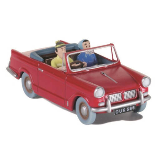 Tim mit dem Auto - das Auto Edition Atlas / en voiture Tintin - la voiture Edition Atlas