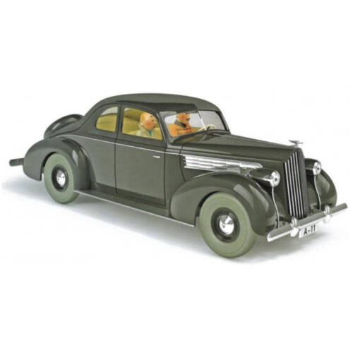Tim und Struppi - Packard Nº28 1:24 / la Packard Muskar XII N°28 -1:24