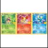 Ludibrium-Pokémon - Oversize Card 3-Pack Kalos Starters (MQ25)