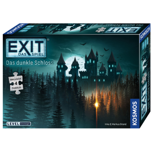 Ludibrium-Kosmos EXIT - Das dunkle Schloss - Spiel und Puzzle