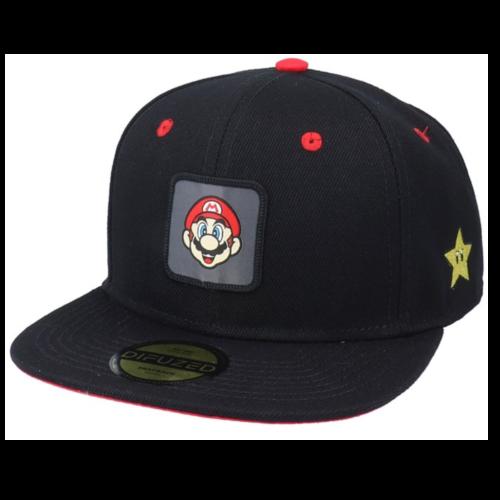 Ludibrium-Nintendo - Snapback Cap Super Mario Badge