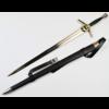 Ludibrium-Witcher - Stahlschwert mit Scheide - Netflix Version